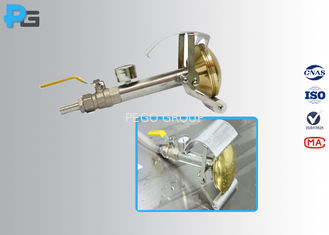 Water Spray Nozzle IP Testing Equipment IEC60529 IPX3 / IPX4 With Brass Sprinkler Head